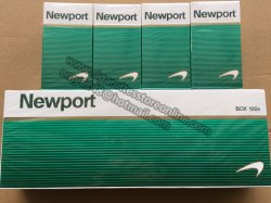 Newport 100s at Discount Cigarette Store 40 Cartons