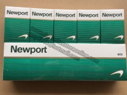 Newport Discount in Online Cigarette Store 50 Cartons